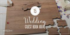 15 amazing wedding guest book ideas | CHWV