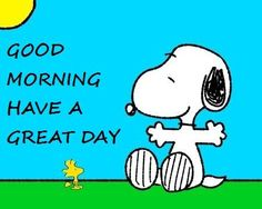 Good morning everyone! Have a great Sunday!