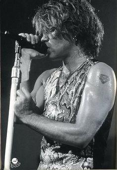 Jon Bon Jovi ~ my favorite JBJ era... LOVED this look on him.. <3