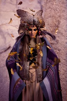 ELLE Bulgaria The January issue 2012/ Follow the wind.. on Fashion Served
