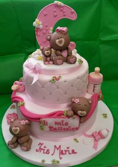 Bears babyshower cake
