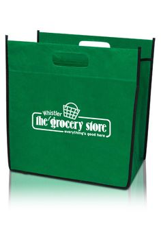 Tired of paper bags ripping up when your grocery's too heavy? Use these promotional grocery tote bags instead! They're sturdy, convenient, and perfect for corporate giveaways as well!