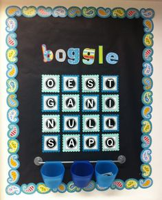 Boggle!!!- with free letter cards