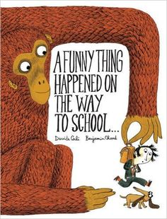 A Funny Thing Happened on the Way to School...: Davide Cali, Benjamin Chaud #Books #Kids