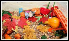 fall sensory tubs