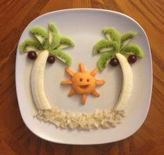 Tante idee semplici e creative per portare in tavola frutta e verdura.  #idee #frutta #verdura #salute #benessere