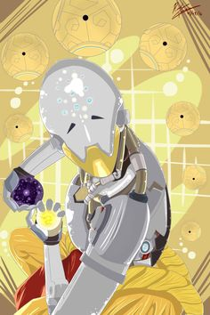 Overwatch Zenyatta by RedGamerRager on @DeviantArt
