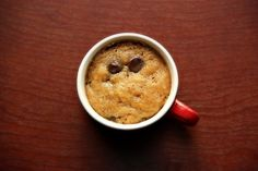Art of Dessert: Quick Fix Microwaveable Chocolate Chip Cookie (aka PMS Cure in a Cup)