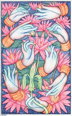 """""""In this respect, Kundalini Yoga assumes that every area of the hand forms a reflex zone for an associated part of the body and the brain. In this way, we can consider the hands to be a mirror for our body and our mind."""" ~ Lothar Rüdiger Lütge, Kundalini yoga expert  Practiced since antiquity in c"""