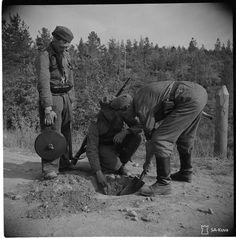 Käsissä kymmeniä telamiinoja ja aikaa kaksi tuntia – Olavi Sorvari teki esteen panssareiden hyökkäykselle Siiranmäkeen - Suomi 100 - Ilta-Sanomat