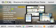 GLOCAL – Directory & Listings WordPress Theme - Best Premium Responsive Wordpress Themes