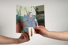 Educational toys for Solidarity Centre Foundation by Bang Bang Design Studio , via Behance