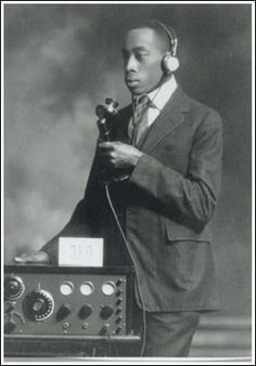 Harold Lee Jackson, the first Black licensed ham radio operator in Canada