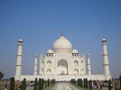Lo más bello, el Taj Mahal