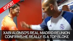 Xabi Alonso's Real Madrid reunion confirms he really is a top bloke
