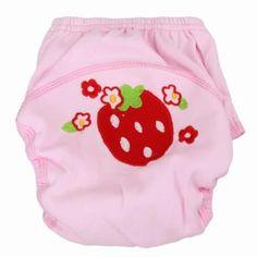 ของดี  Baby Breathable Soft Cotton Diaper Pants Reusable Cartoon Nappy(Pink) (90) - intl  ราคาเพียง  137 บาท  เท่านั้น คุณสมบัติ มีดังนี้ Name: &diaper pants Specification: 80, 90, 100 Age: 0 to 24 months Material: pure cotton Features: material is qualitative soft, comfortable, can berepeated washing, also can adjust size, suitable for different sizeof the baby
