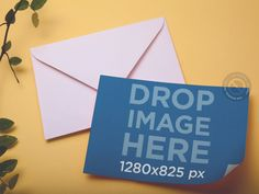 New Mockup Featuring Two Business Cards Lying On Top Of An