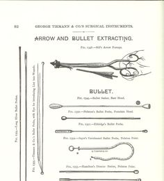 Civil War Bullets, Probes, and Extractors - Civil War Medicine