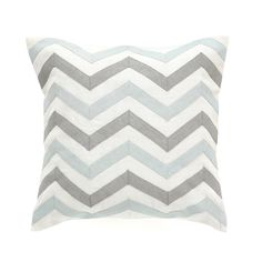DwellStudio ZIG ZAG MIST PILLOW | DwellStudio