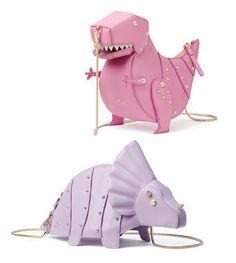 Kate Spade Whimsies T-Rex &Triceratops crossbody | Some of my favorite Kate Spade pieces of all time!