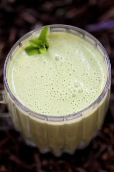 Kefir Green Smoothie ~Cultured Food Life