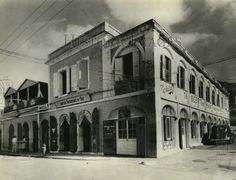 American Bar and Restaurant ~ 1938 St. Thomas, US Virgin Islands