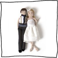 Personalised Bride And Groom Dolls Quirky Wedding, Unique Wedding Favors, Unique Weddings, Groom, Bride, Dolls, Couples, Grooms, Wedding Bride
