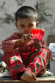 Un enfant birman ...