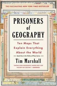 Booktopia has Prisoners of Geography, Ten Maps That Explain Everything about the World by Tim Marshall. Buy a discounted Paperback of Prisoners of Geography online from Australia's leading online bookstore. Book Club Books, Book 1, The Book, Good Books, Books To Read, Free Books, Ap Human Geography, World Geography, Physical Geography