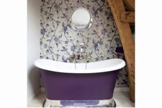 The Chariot Bath. Handmade from: Chadite TM it gives the feel and texture of cast iron, but is a fraction of the weight and retains heat rather than absorbing it. #freestandingbath #luxurybath #tub #luxurybath #bath #luxurybath #tub #freestandingbath #antiquebath #castironbath #rustic #traditionalbathroom #traditionalstyle #basin #sink #chadder #chadderandco #bath #bathroom #porthole #portholes #portholemirror #hisandhers #love #ballandclaw #bathfeet #doubleendedbath #antique #basin