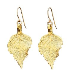 Chupi - Tiny The Sweetest Thing Raspberry Leaf Earrings ($152) ❤ liked on Polyvore featuring jewelry, earrings, evening earrings, leaf earrings, leaf jewelry, hook earrings and polish jewelry