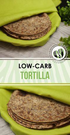 Die low-carb Tortillas sind einfach, glutenfrei und super lecker. Das Grundrezept stammt von Ketoapp.com