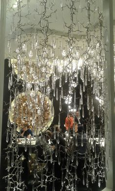Serip Organic Lighting....stunning! Hard to show in a photo