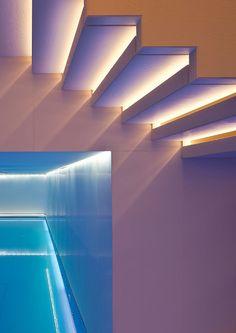 Built-in lighting profile UNDERSCORE by @iGuzziniIlluminazione | design Dean Skira