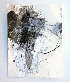 Mayako Nakamura Sango iro no tsubomi (2012) Acrylic and charcoal on Hahnemuhle Bamboo 265g 360x480mm