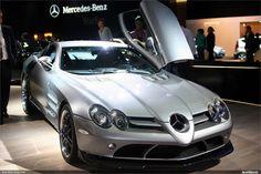 Mercedes slr alas de gabiota.