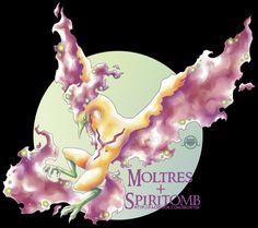 Moltres X Spiritomb [Closed] by on DeviantArt Pokemon Fusion Art, Nerd Love, Christmas Ornaments, Holiday Decor, Deviantart, Digital, Artist, Geek, Games