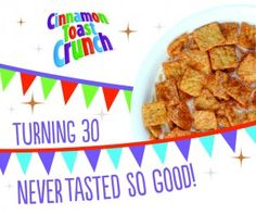 Free Sample of Cinnamon Toast Crunch! – first 30,000