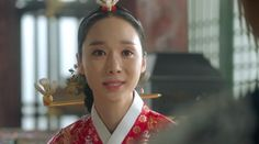 """In drama """"Moonlight Drawn By Clouds,"""" actress Han Soo Yeon plays the role of…"""