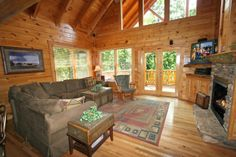 Mountain Elegance cabin rental in Sevier County