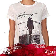 T-shirt para completar o look! Arrase! #OutonoInvernoZan