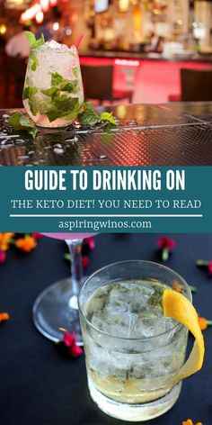 This is the full guide on how to drink alcohol on the keto diet. Can you drink wine on the keto diet? Find out here! There are some good choice alcoholic drinks for keto, and some drinks to definitely avoid. Diet Plan Menu, Keto Diet Plan, Low Carb Diet, Keto Meal, Paleo, Alcoholic Drinks Keto, Crystal Light Drinks, Keto Wine, Recipes