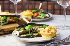 Koken met aanbiedingen: veggieburger met geitenkaas