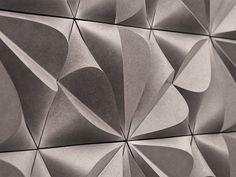 Azulejo tridimensional de fibrocemento SEED by KAZA Concrete | diseño Gillian Blease