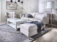 Boknäs Howard sohva ja rahi Villinki sohvapöytä