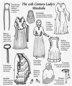 Must Haves for the 12th Century Lady's Wardrobe