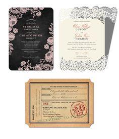wedding paper divas invitation cards chalked affair classic devotion ticket to bliss romantic invites