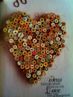 i love this!  Me too! Great way to use all that old thread I know I should just toss!<3