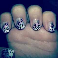 Leopardo nails