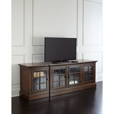 Hooker Furniture Somerset Entertainment Console (8,340 ILS) ❤ Liked On  Polyvore Featuring Home,